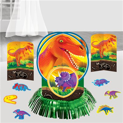 Prehistoric Party Table Decorating Kit - 32cm