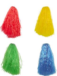 Pom Poms - Assorted Colours