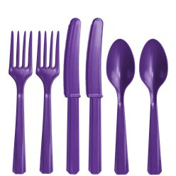 Assorted Plastic Cutlery