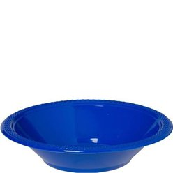 Royal Blue Party Bowls - 355ml Plastic