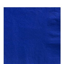 Royal Blue Luncheon Napkins - 33cm Square 2ply Paper