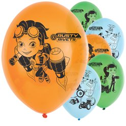 "Rusty Rivets Balloons - 11"" Latex"