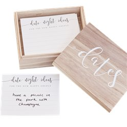 Rustic Country Wooden Date Suggestion Box