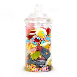 Victorian Sweet Jar - Plastic - 500ml
