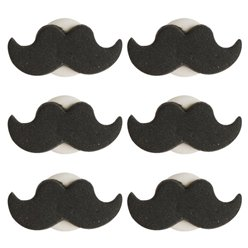 Cake Decorations - Moustache Sugar Toppers