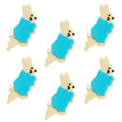 Peter Rabbit Sugar Cake Toppers - 6pk