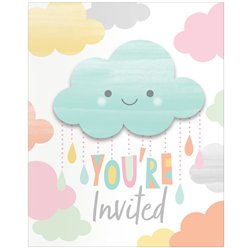 Sunshine Baby Showers Invitations