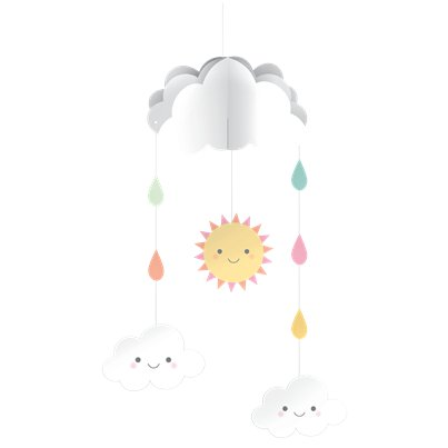Sunshine Baby Showers Hanging Mobile - 38cm