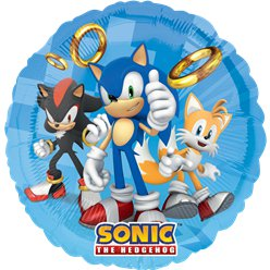 "Sonic The Hedgehog Balloon - 18"" Foil"