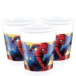 Spider-Man Homecoming - Plastic Party Cups 200ml