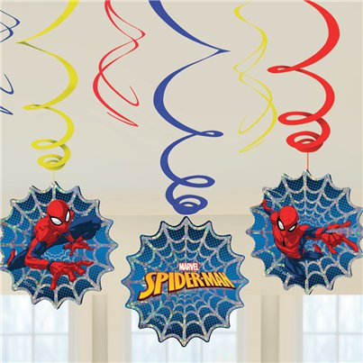 Spider-Man Swirl Decoration