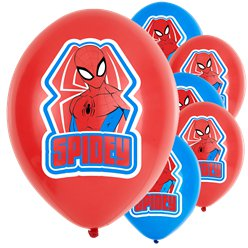 "Spiderman 'Spidey' Balloons - 11"" Latex"