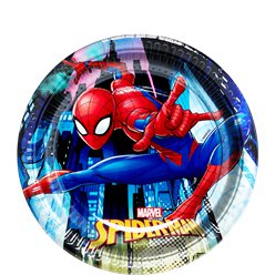 Spiderman Team Up Dessert Plates - 19.5cm