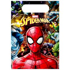 Spiderman Team Up Party Bags - Plastic Favour Bags