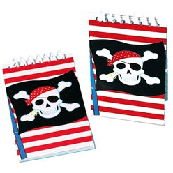 Pirate Party Mini Notebooks