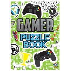 Gamer Mini Puzzle book
