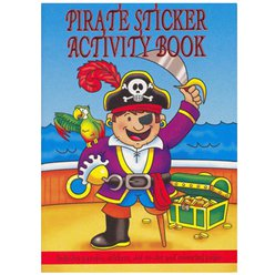 A6 Mini Pirate Sticker Activity Book