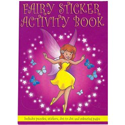A6 Fairy Sticker Activity Book