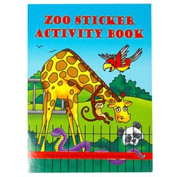 A6 Mini Zoo Sticker Activity Book