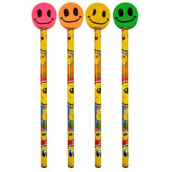 Smile Pencil with Eraser