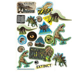 Natural History Dinosaur Stickers