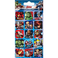 Avengers Foil Caption Stickers