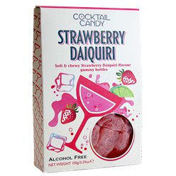 Strawberry Daiquiri Flavour Gummy Bottles