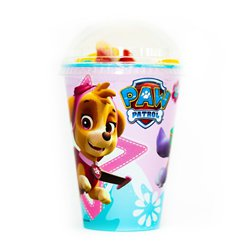 Pink Paw Patrol Sweet Cup with Jellies & Marshmallows