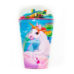 Unicorn Sweet Cup with Jellies & Mallow