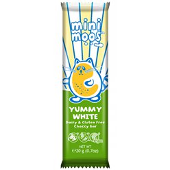 Mini Moo's Organic Yummy White Bar