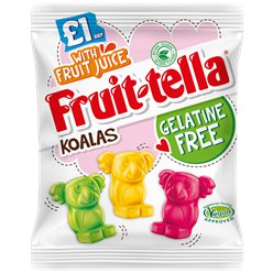 Vegan Approved Fruitella Koalas
