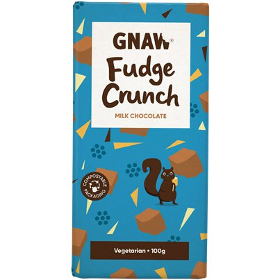 GNAW Fudge Crunch Chocolate Bar