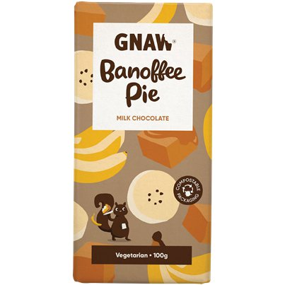 GNAW Banoffee Pie Chocolate Bar
