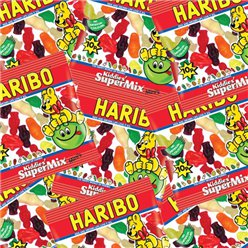 Haribo Kiddies' SuperMix Mini Bags Bulk Box