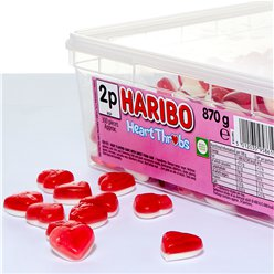 Haribo Heart Throbs Tub