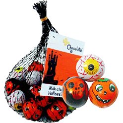 Net of Halloween Chocolate Balls - 45g