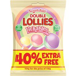 Double Lollies Lickables