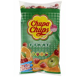 Chupa Chups Fruit Flavour Lolly Bulk Bag - Bulk Sweets