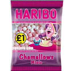 Mini Mallows - Pink & White Bag