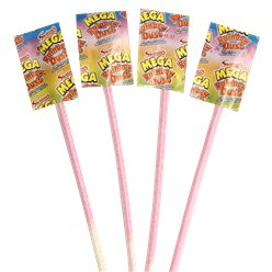 Mega Rainbow Dust Straws - 8g