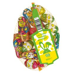 Net of Easter Foiled Chocolate Eggs - 100g
