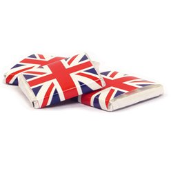 Union Jack Chocolate Neapolitans - 50pk