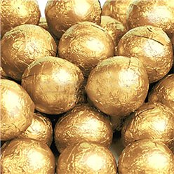 Gold Chocolate Balls - 25pk