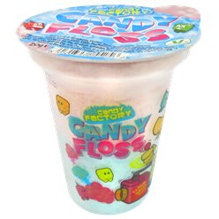 Candy Floss Tub - Strawberry & Raspberry Flavours