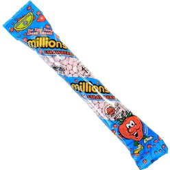 Millions Tubes - Strawberry Flavour