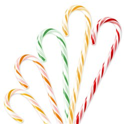 Fruit Candy Cane - 28g