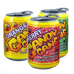 Candy Cans - Fruit Flavour Sherbert