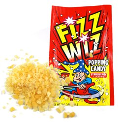 Fizz Wiz Popping Candy - Strawberry Flavour