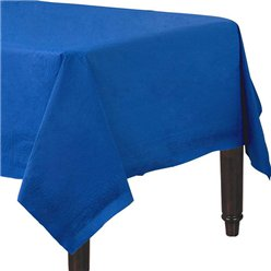 Dark Blue Tablecover - Paper - 90cm x 90cm