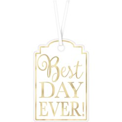 White Best Day Tags
